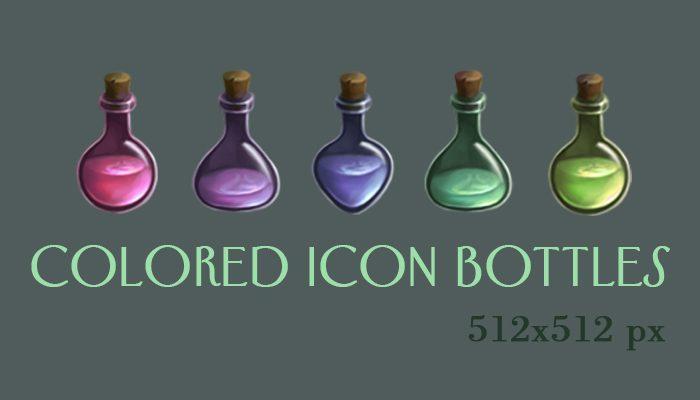 Icon bottles