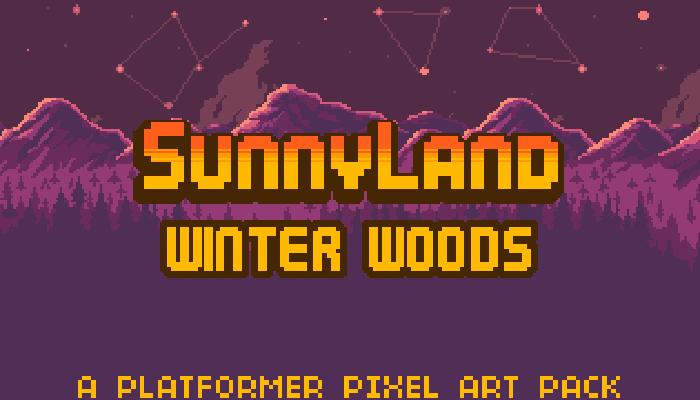 SunnyLand Winter Woods