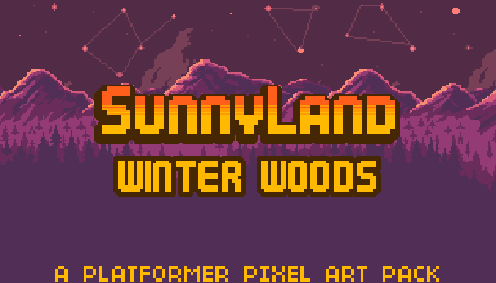 SunnyLand Winter Woods
