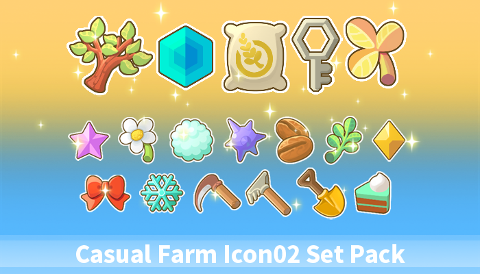 Casual Farm Icon02 Set Pack