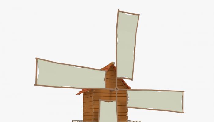 WindMill LowPoly