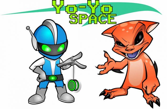 2D SPRITE CHARACTER: SPACE YO-YO