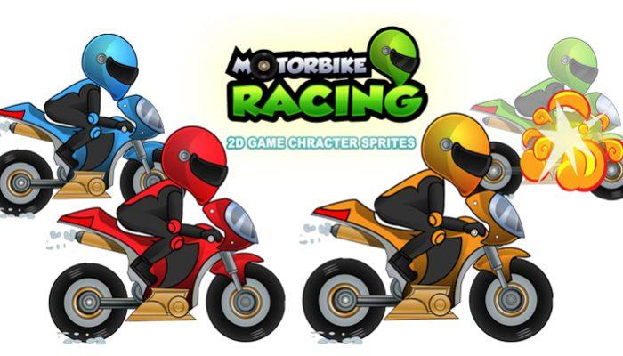 Racing Motorbike Game Sprites