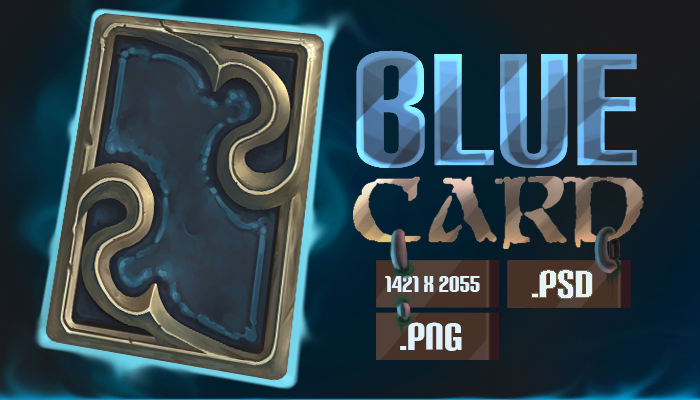 Blue Card Template