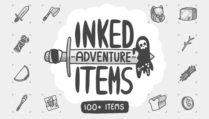 Inked Adventure Items