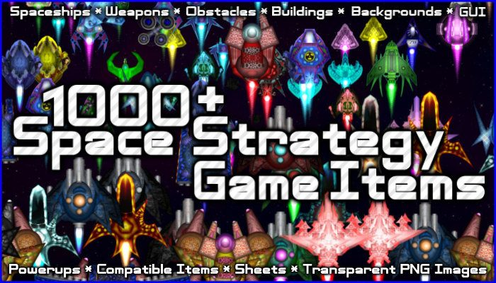 1000+ Space Strategy Game Items