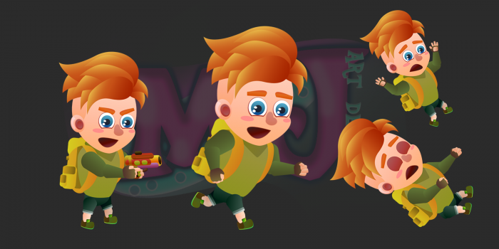 2D Game Character 2