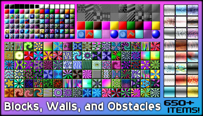 Blocks, Walls, and Obstacles (650+ Items!)