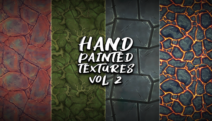 Hand Painted Textures Vol.4