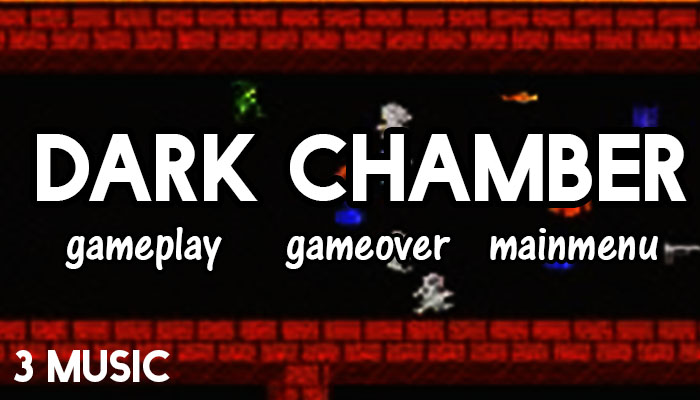 dark chamber theme game music pack