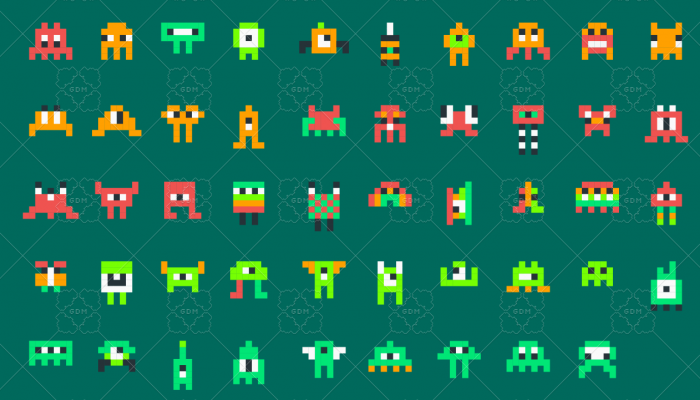 Pixelart Mini Monsters