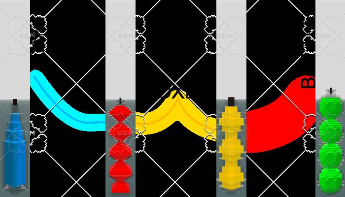3D PACK VOXEL MODELS BOTTLES