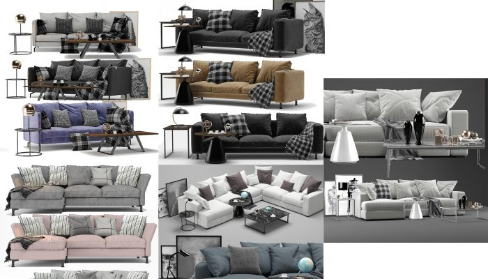 Sofas Boconcept 5 models