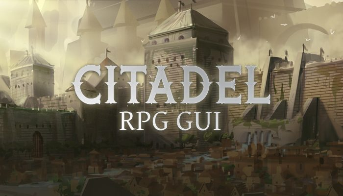 Citadel RPG GUI