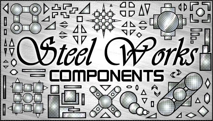 Steel Works Components (100+ images in pack)