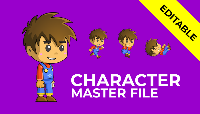 2D Character-Master File