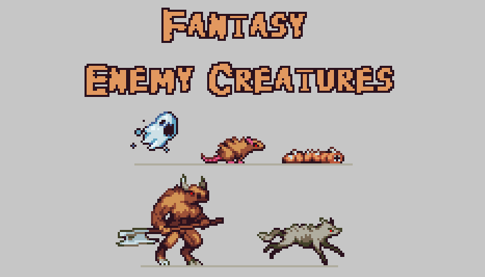 Fantasy Enemy Creatures