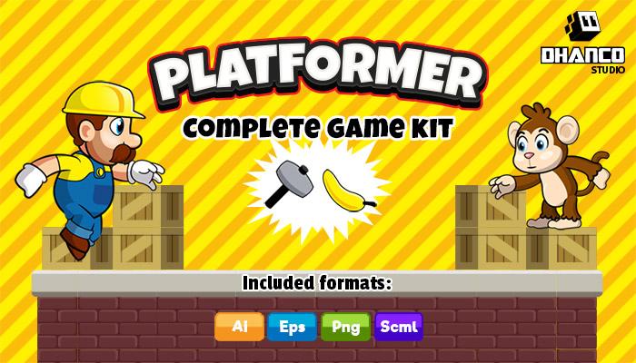 Platformer Complete Game Kit