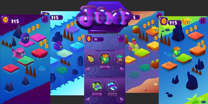2D Jump Game Kits 2
