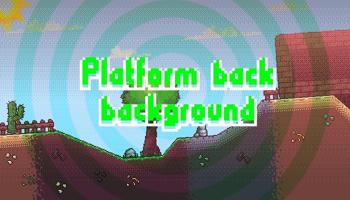 platform back background