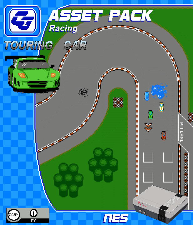 RACING ASSET PACK 'Touring Cars' NES