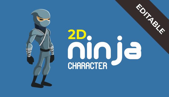 2D Ninja Character – Master File