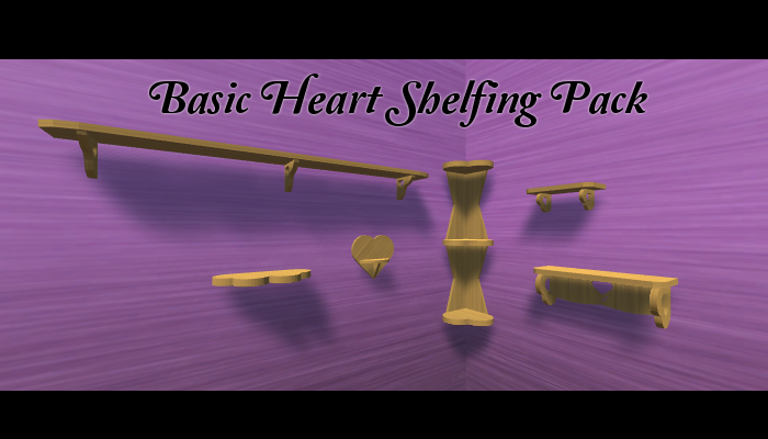 Basic Heart Shelf Pack
