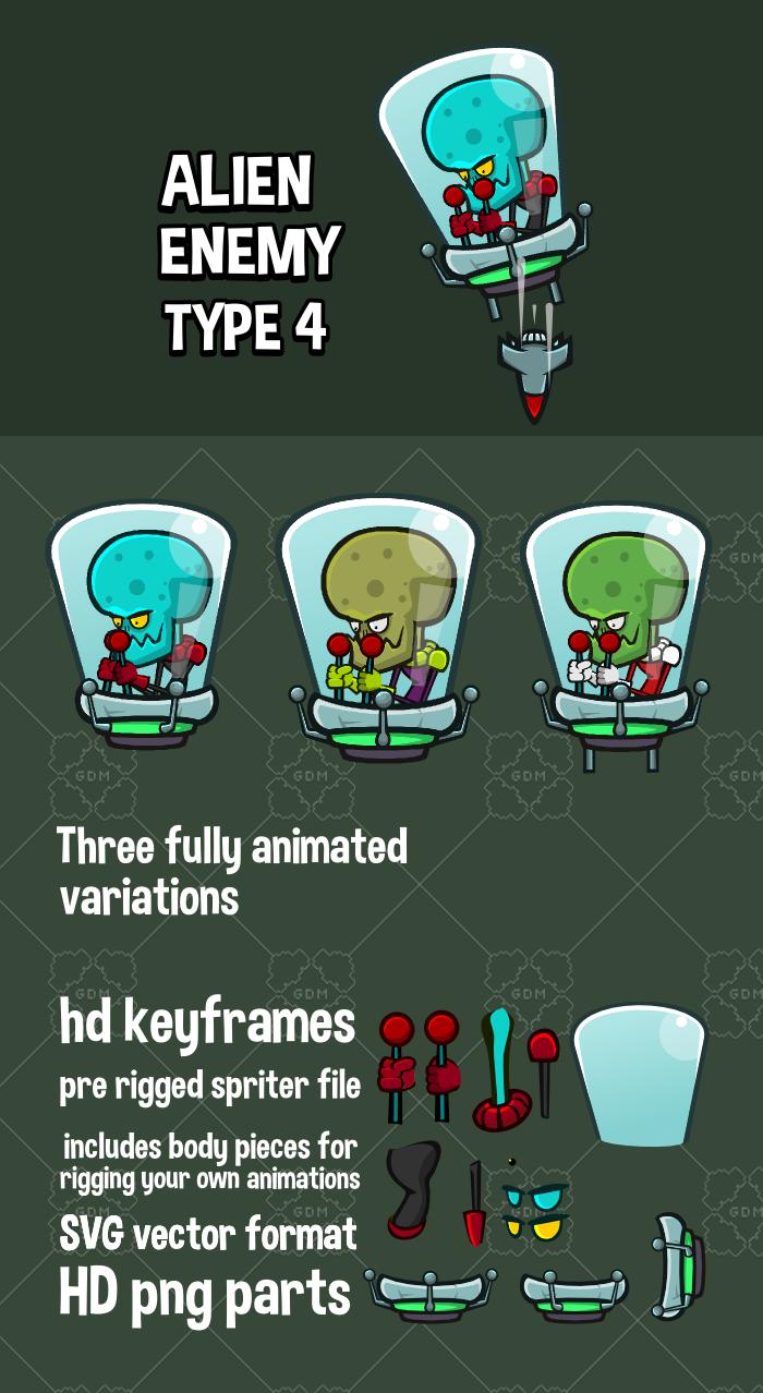 Alien enemy type 4