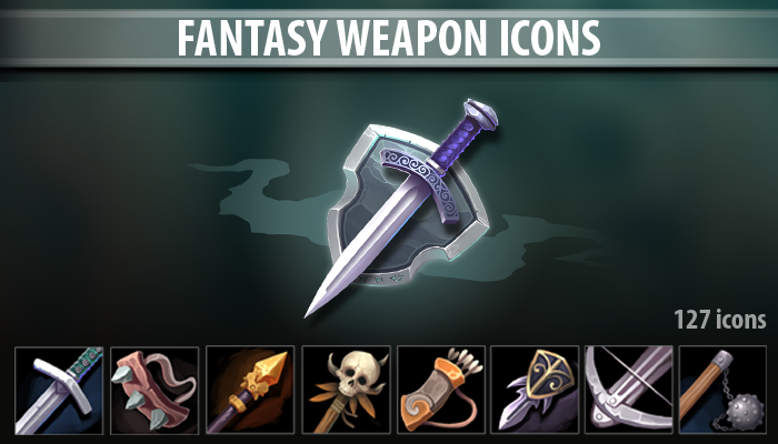 Fantasy Weapon Icons