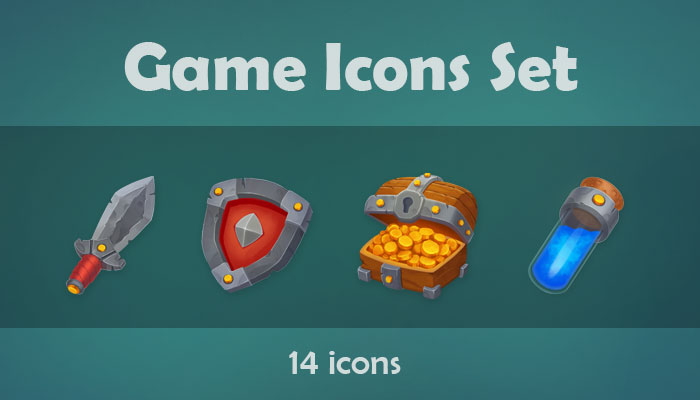 Game Icons Set