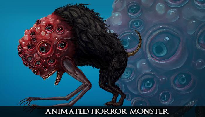 2D Animated Horror Monster – Doggo