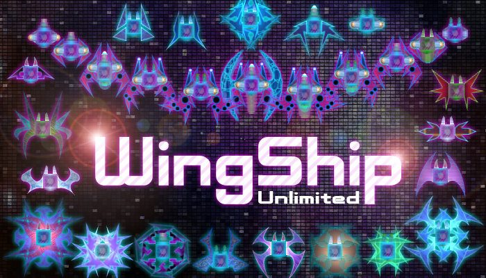 WingShip – Component Spaceship with Wings and Parts