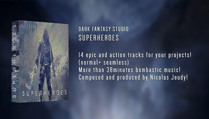 Dark Fantasy Studio- Superheroes (epic / action music)
