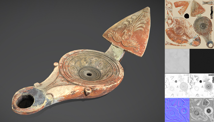 Ancient Roman Lamp
