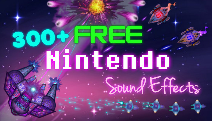 300+ Nintendo – 8 bit – Video Game Sound Pack