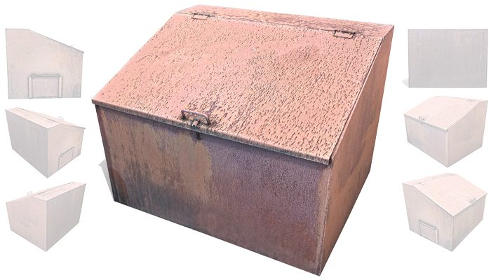 Street metal box