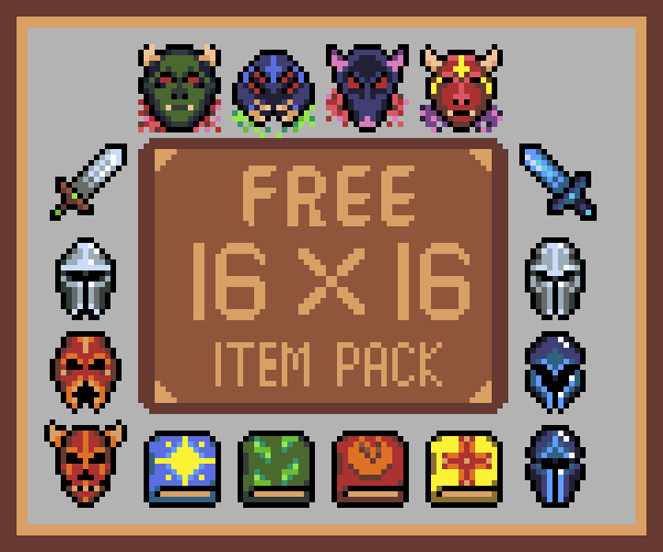 RPG Item Pack 16×16