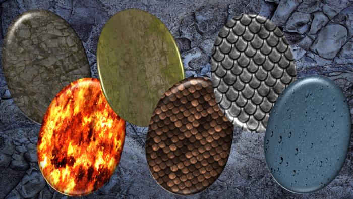 Dragon Eggs Set