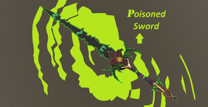 Poisoned Fantasy Sword