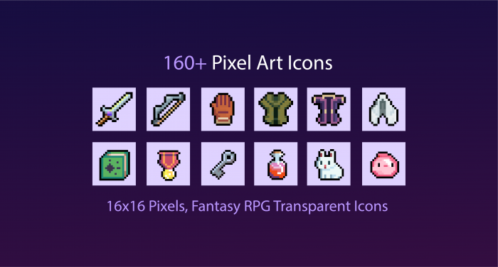 RPG Pixel Icons Pack