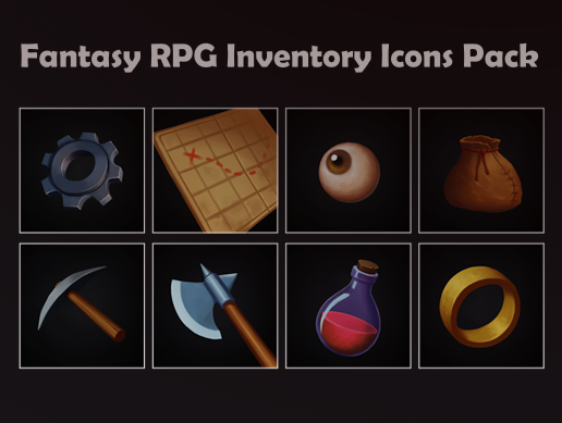 Fantasy RPG Inventory Icons Pack