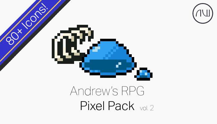 Andrew's RPG Pixel Pack Vol. 2