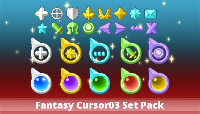 Fantasy Cursor03 Set Pack