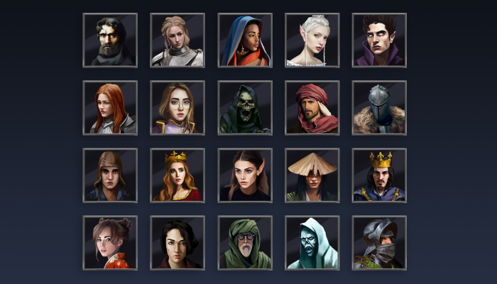 Fantasy Characters Icons