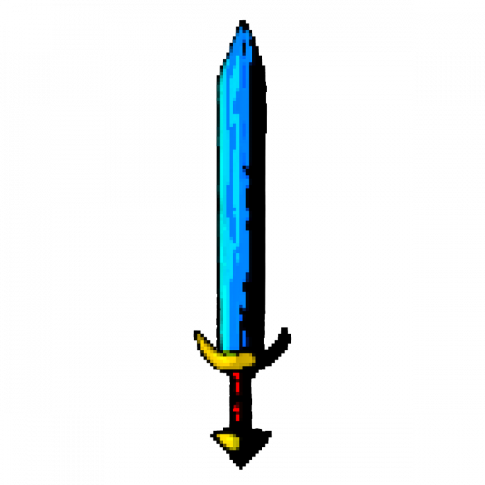 High Quality Pixel Sword