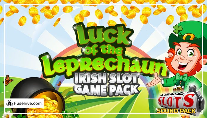 Irish Casino Slot Game Music & Sound Effects Library – Ireland St Patricks Day Leprechaun Slots SFX