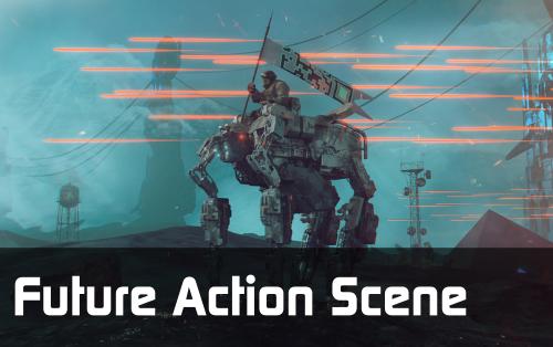 Future Action Scene