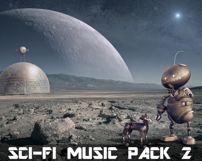 Sci-Fi Music Pack 2