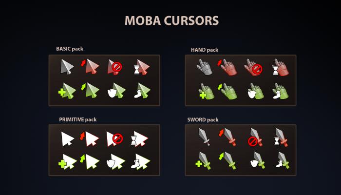 Moba Cursors