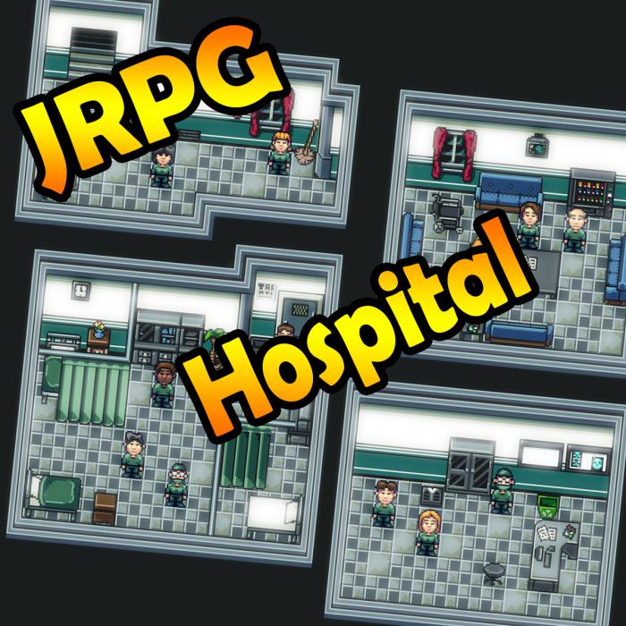 JRPG – Hospital Set